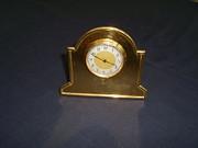 Edwardian Salon Clock 24ct gold