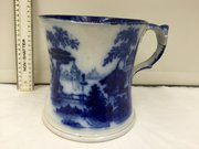 Flo Blue Very Large Size Mug circa 1850