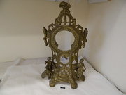 French Gilded Mantle Clock Frame