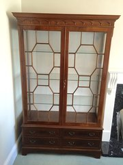 Georgian Style Mahogany Display / China Cabinet