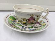 Hilditch Porcelain Cup and Saucer