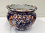 Japanese Imari Porcelain Jardiniere
