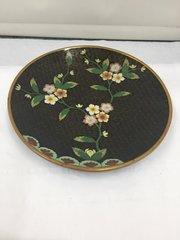 Old Oriental Cloisonne Dish
