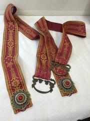 Pr Antique Curtain Tie Backs