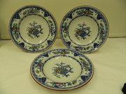 Set 3 Minton Plate  Bowls circa 1891