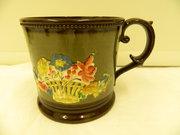 Unusually Large Copper Lustre Mug circa 1830