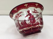 Venetian Ruby Glass Bowl circa 1875
