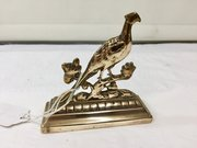 Victorian Brass Fire Side Game Bird  Ornament