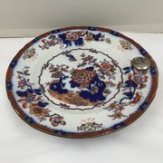 Victorian Ironstone Pottery Food Warmer circa 1850