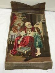 Victorian Needlework Panel circa 1850
