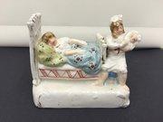 "Victorian Porcelain Fairing "" feeding baby"""