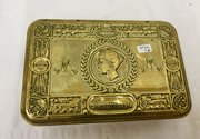 WW1  1914 Christmas Tobacco Box Tin