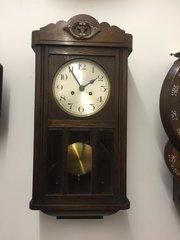 1930s English wall clock.