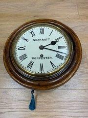8 inch Fusee GWR Wall Clock - Skarratt of Worcs.