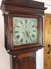 Antique 8 day Oak Longcase Clock c1825