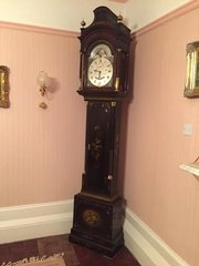 Antique C1775 Mahogany Automation Longcase Clock