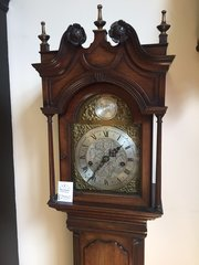 Antique English, Miniature Longcase clock