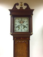 C1800 8 day Longcase Clock with 12-o-Clock Moon