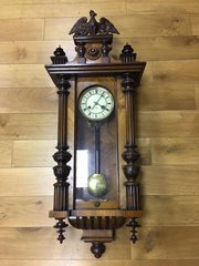 C1875 Antique Vienna wall clock