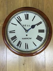C1875 usee dial clock - Dell of Harrow