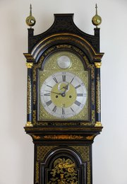 c1745 William Kipling of London Longcase Clock