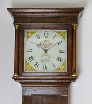 Fine English Oak 30 Hour longcase clock