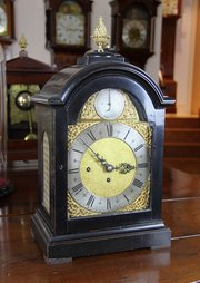 c1790 Antique Bracket Clock, By Jonathan Lumb