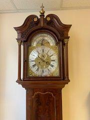 Magnificent Mahogany Longcase Clock c1765