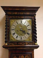 Marquetry Longcase clock by John Williamson, Leeds