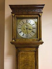 Queen Ann, Walnut, London Longcase Clock c1705