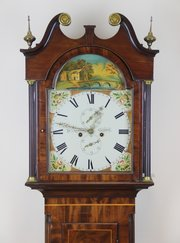 Fine Scottish Mahogany Longcase Clock