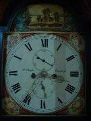 Scottish Mahogany Longcase Clock