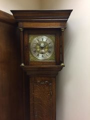 c1740 OAK 30 Longcase clock by William Varley