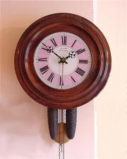 Black Forest 'Postmans Alarm' Wall clock.