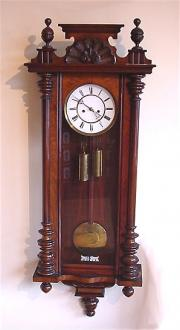 Vienna Regulator wall clock. c1865