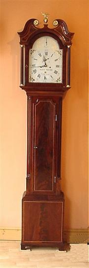 Scottish Mahogany 8 day Longcase Clock c1780