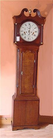 Antique Longcase Clock by Smith of Alfreton c1800