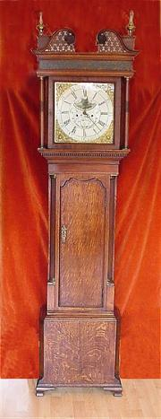 Antique Longcase Clock By William Barlow Ashton