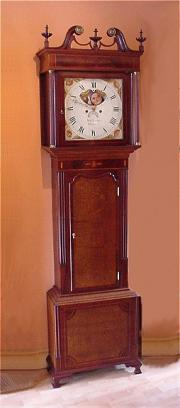 Antique Cheshire Longcase Clock c1830