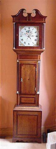 Antique Longcase Clock - Charles Crosby, Coleshill