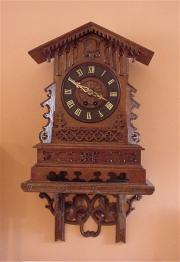 Genuine Antique Black Forest Cuckoo Clock.