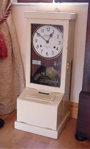 National Time Recorder Clock. 1910/20s