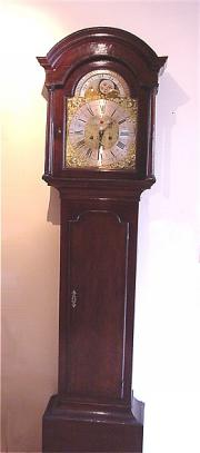 Antique Longcase Clock by Samuel Whalley c1735