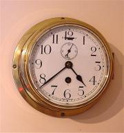 Antique English Ships Clock c1911