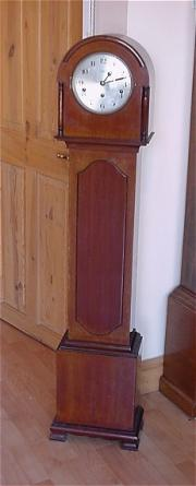Rare Art Deco Westminster Chime Grandmother Clock