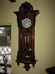 Antique Vienna Regulator Wall Clock c1860