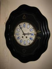 Antique French Vinyard Clock, Circa 1880.