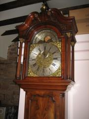 Antique Rolling Moon Longcase Clock c1765