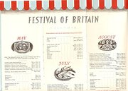 1951 Festival of Britain  Illustrator Eric Fraser