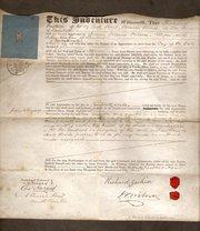 Apprentice Indenture  1854